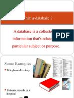 8 Database