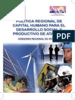 Politica Regional de Capital Humano