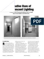 Creative Uses of Fluorescent Lighting