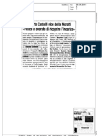 Roberto Castelli vice della Moratti