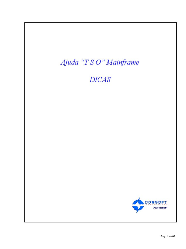 Ajuda Tso Mainframe