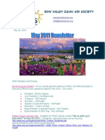Bow Valley Clean Air Society Newsletter