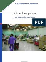 PLAQUETTE-LE TRAVAIL EN PRISON- DEMARCHE CITOYENNE