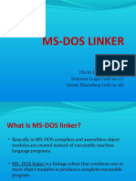 Ms-dos Linker (New)