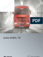 Actros 2646S 6x4