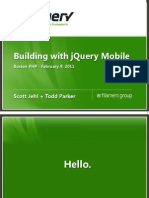 Jquery Mobile Cross Platform Mobile Web Development HTML5