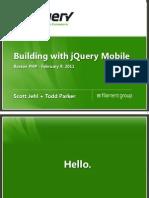 Jquery Mobile Cross Platform Mobile Web Development HTML5