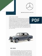 Mercedes-Benz Passenger Cars - 1961