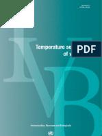 Temperature Sensiviti of Vaccines