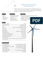 Raum 3 5kW Turbine Data Sheet-2010