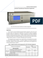 Numerical Transformer Protection Relay Terminal-CSC326