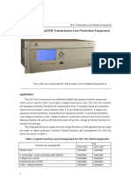 Numerical Distance Protection Relay Terminal-CSC 101