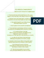 The Ten Native American Commandments