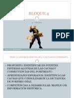 Situacion Problema Dictadura Porfirio Diaz