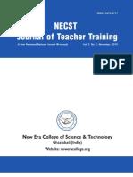 NECST- Journal of Teacher Training