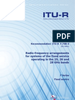 26 GHz Frequency Allocation