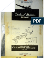 21st Bomber Command Tactical Mission Report 52etc