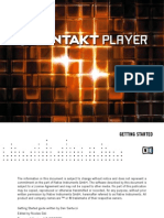 KONTAKT PLAYER Getting Started English