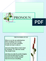 MY Presentation - Pronoun