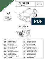 Инструкция по монтажу разъема фаркопа на Renault Duster