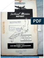 21st Bomber Command Tactical Mission Report 151