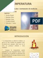 Temperatura (Medición y Conceptos)