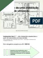 Projecto de uma instalação (1)