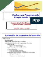 Evaluaci%F3n Financier A de Proyectos de Inversi%F3n ACEF