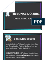 Cartilha Tribunal Do Juri