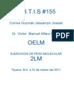 Ejercicios de Peso Molecular