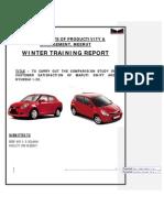 WINTER Report on Maruti Swift and Hyundai-20