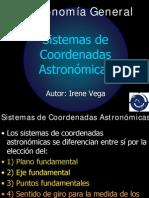 sistemas coordenadas