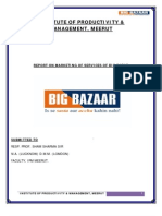 Report on Big Bazar