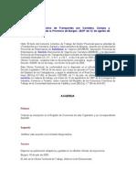 Convenio Colectivo de Transportes Por Carretera Garajes y Aparcamiento Burgos
