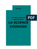 Abel REY La science chinoise in La science orientale avant les grecs.