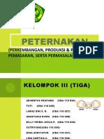 Presentasi Makalah Tataniaga Peternakan