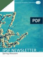 IPSF Newsletter 86 - Spring Blossom