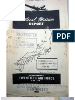 21st Bomber Command Tactical Mission Report 256etc