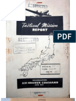21st Bomber Command Tactical Mission Report 257 and 261