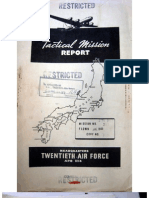 21st Bomber Command Tactical Mission Report 270