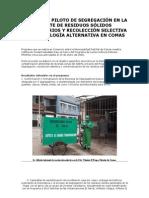 Proyecto Segregacion en La Fuente