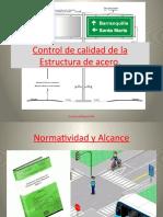 Control de Calidad de La Estructura de Acero