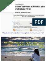 Curso preparatório Exame de Suficiência CFC