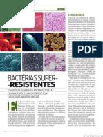 Bactérias super resistentes