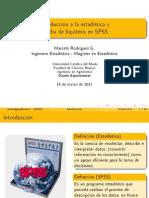 1 - Introducción a estadística y prueba de hipótesis en SPSS (Agronomía)