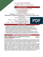 Curriculum Profesional JOTK 2011