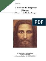 Le Retour du Seigneur Jésus