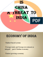 China a Threat to India