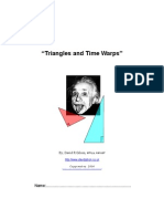 Triangles and Time Warps