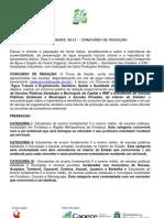 release Concurso de Redação Cagece